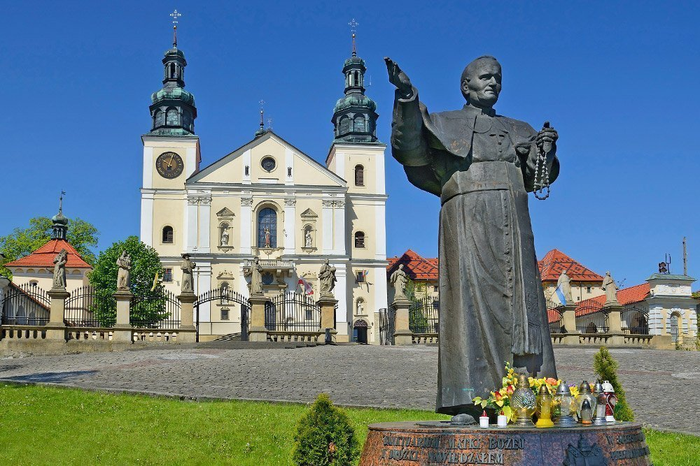 John Paul II Route. A sentimental journey along the Pope's trail will take you across southern Poland.